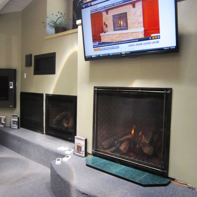 Incline Stove Fireplace Gas Inserts